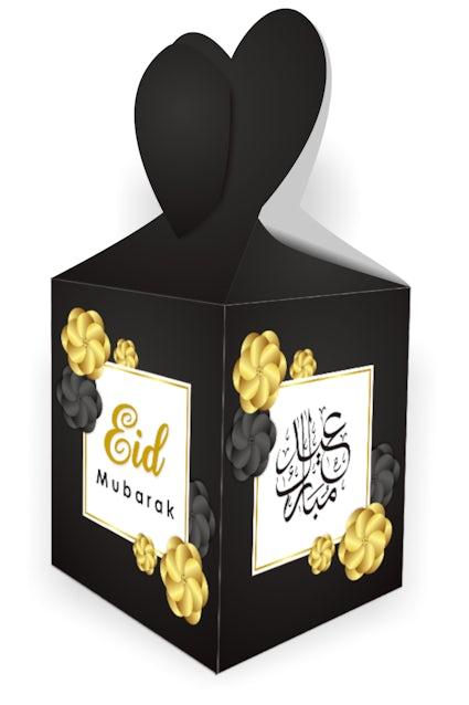 Eid Mubarak Gift Boxes Black Kube Publishing