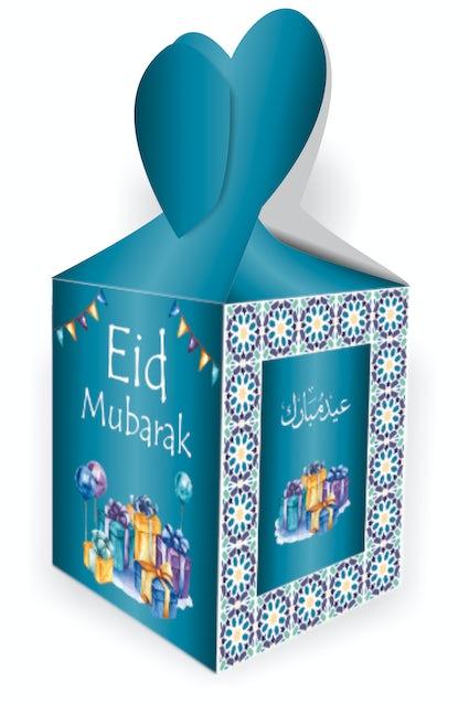 Eid Mubarak Gift Boxes Turquoise Mosaic Kube Publishing